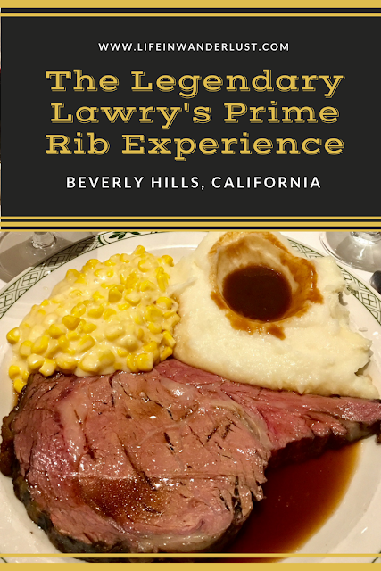 Lawry's Prime Rib Beverly Hills Review