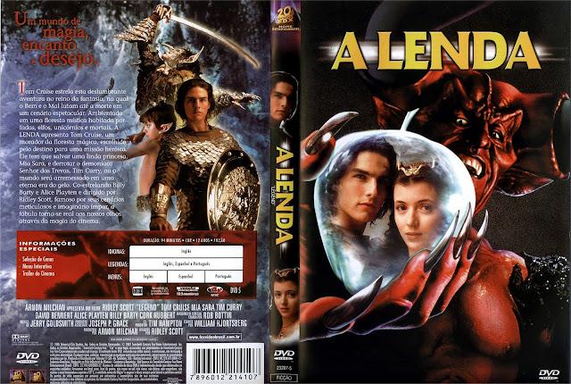 Capa DVD A Lenda