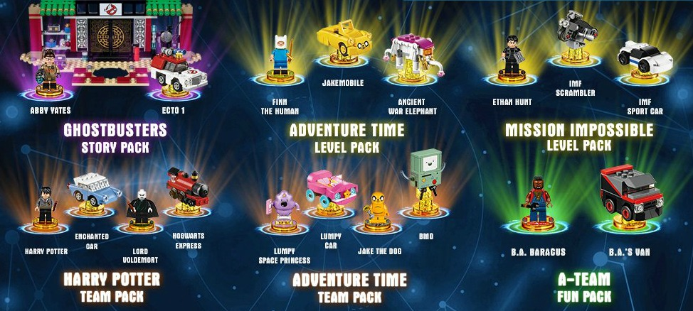 A GEEK DADDY: A New Wave of LEGO Dimensions Expansion Packs ...