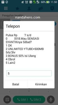 Paket Internet im3 Indosat Kuota 35GB Seharga Rp95.000