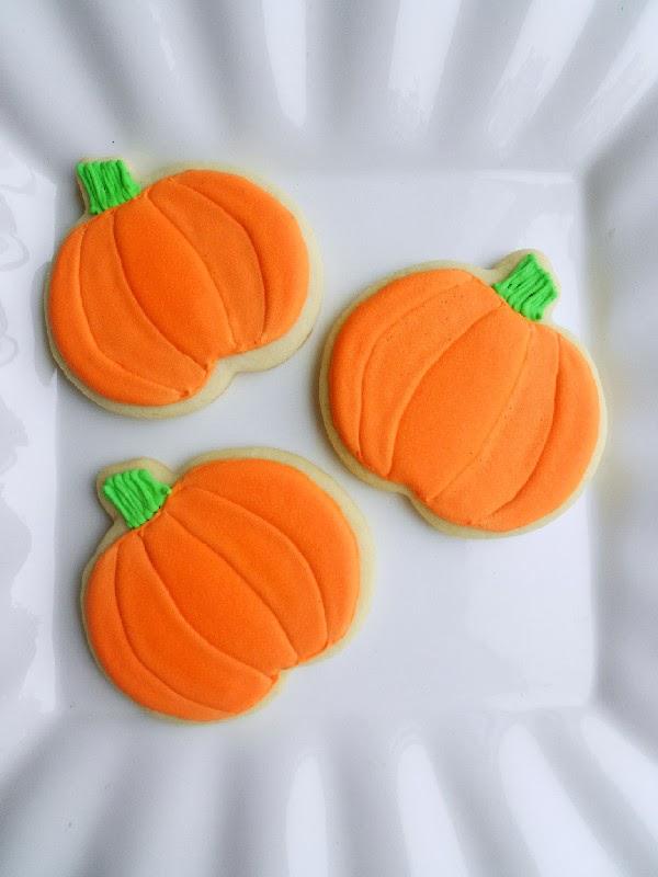 Decorated Pumpkin Cookies Confessions Of A Confectionista