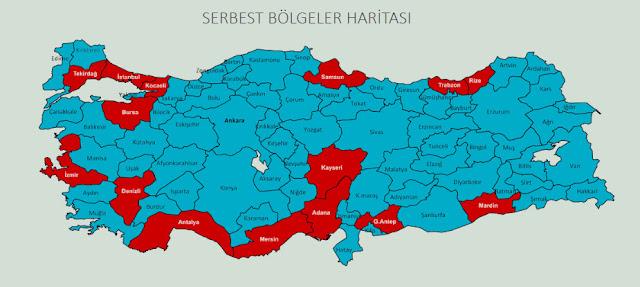 turkey free trade zone, FTZ
