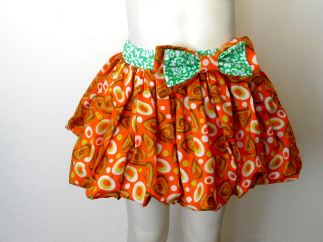 Free Bubble Skirt Pattern 12