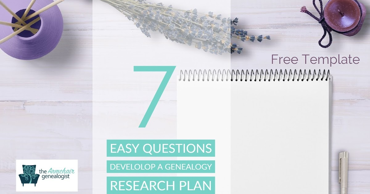 Develop a Genealogy Research Plan with 7 Simple Questions The