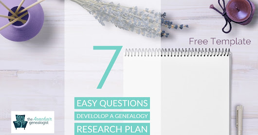 Develop a Genealogy Research Plan with 7 Simple Questions