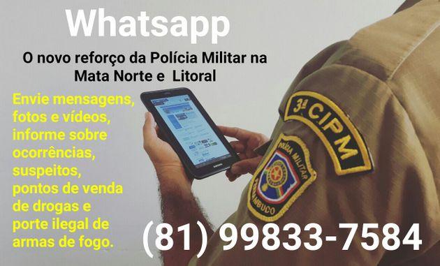 SERVIÇO DE UTILIDADE PÚBLICA: POLÍCIA MILITAR DE PERNAMBUCO