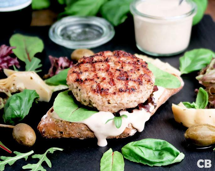 Vitello-tonnato-burger