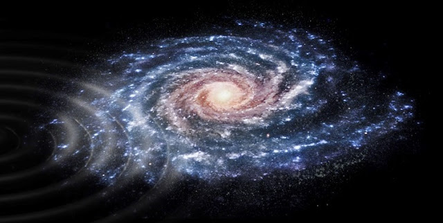 gaia detects a shake in the milky way