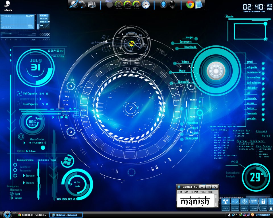 Cyber Security How To Customize Desktop In Windows And Linux