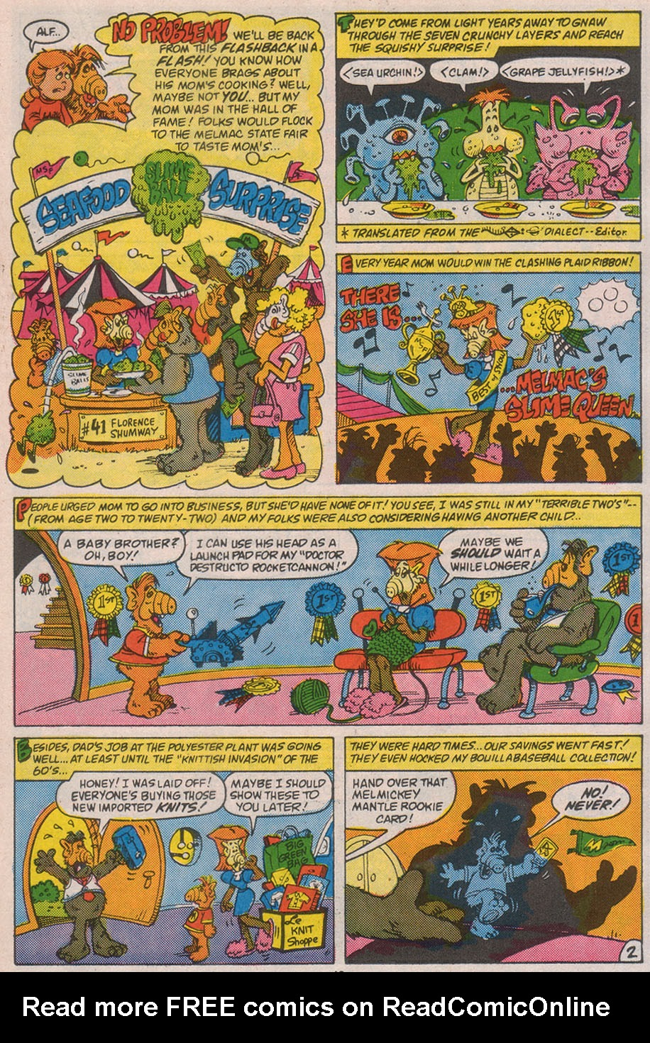 Read online ALF comic -  Issue #8 - 21