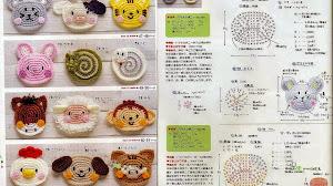 12 patrones de apliques con forma de animalitos