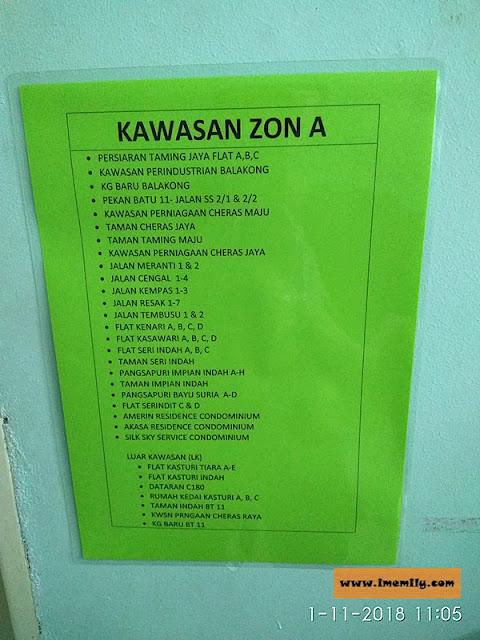 Klinik Kesihatan Balakong house zone