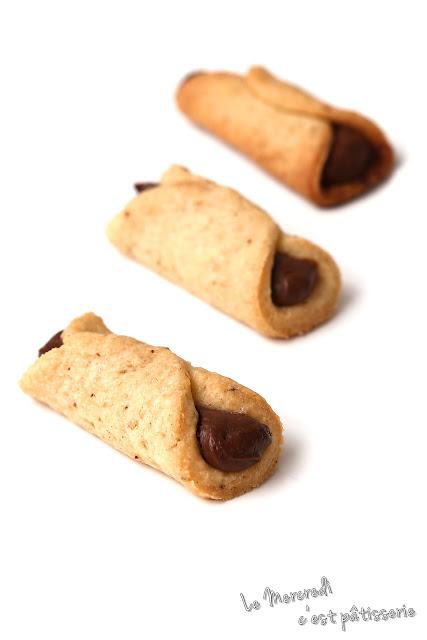 Petits roulés au Nutella