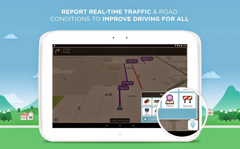 waze social gps maps traffic apk offline installer