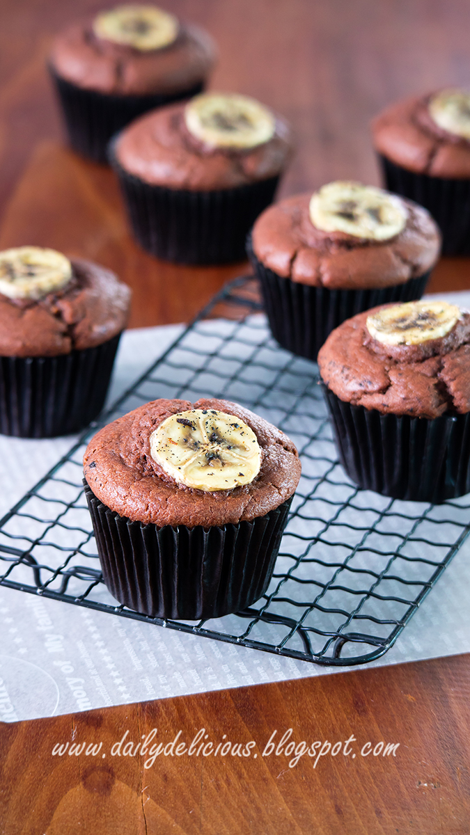 Moist Chocolate Banana Cake Recipe