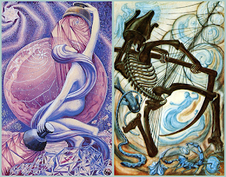 Lineage and Blood of Saints: Star XVII and Death XIII Thoth Tarot