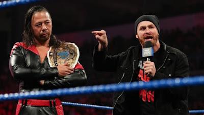 IC Sami Zayn Manager Team The Miz Shinsuke Nakamura WWE