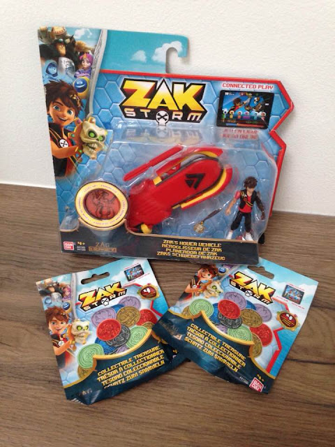 ZAK STORM! Hover craft, coins and app review