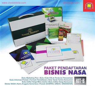 Paket pendaftaran Bisnis Nasa