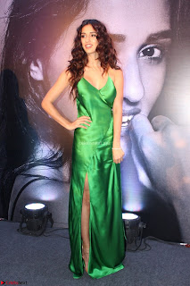 Disha Patani in Beautiful Green Gown at her App Launch 012.JPG