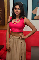 Akshita super cute Pink Choli at south indian thalis and filmy breakfast in Filmy Junction inaguration by Gopichand ~  Exclusive 052.JPG