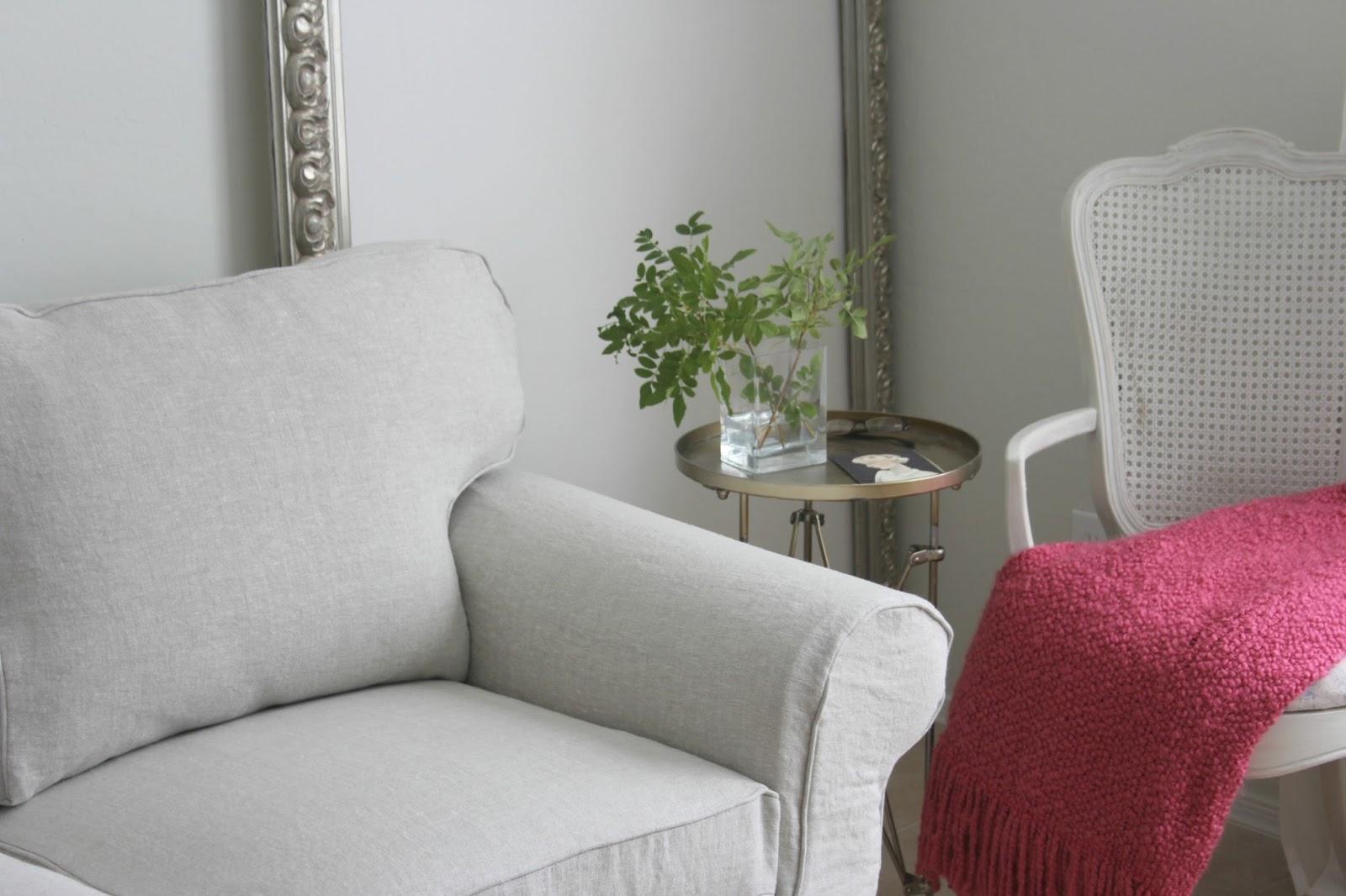 belgian linen sofa black sectional craigslist my ektorp sofas get a luxurious ikea hack from bemz