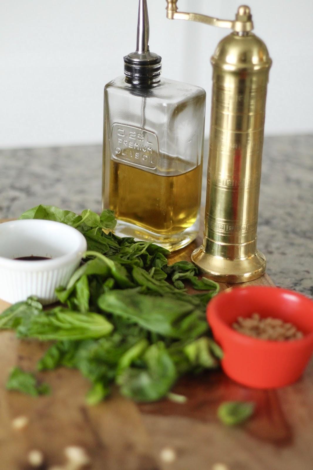 basil, pesto, healthy, easy, recipe, dairy, free