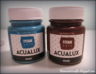Acualux Mate Titan Turquesa marron