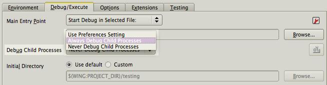 Multi-process Debugging in Wing IDE Pro 5 1   Wingware