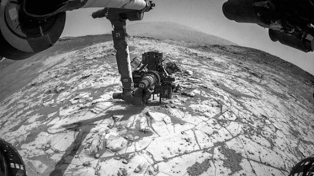 moléculas organicas encontrada sem Marte - indicio de vida