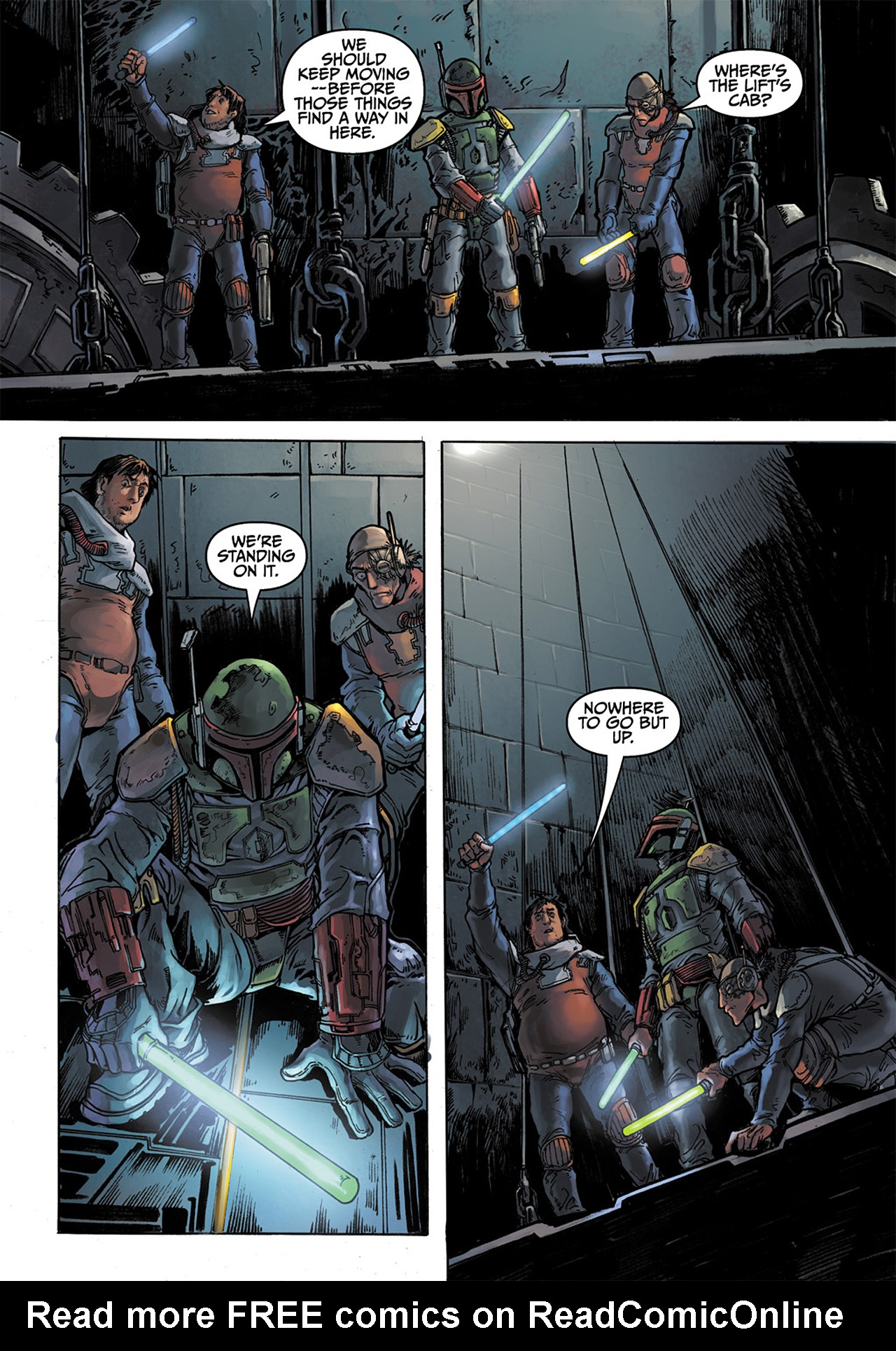 Read online Star Wars Adventures comic -  Issue # Issue Boba Fett and the Ship of Fear - 47