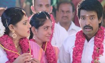 Velainu Vandhutta Vellaikaaran Soori Pushpa Marriage