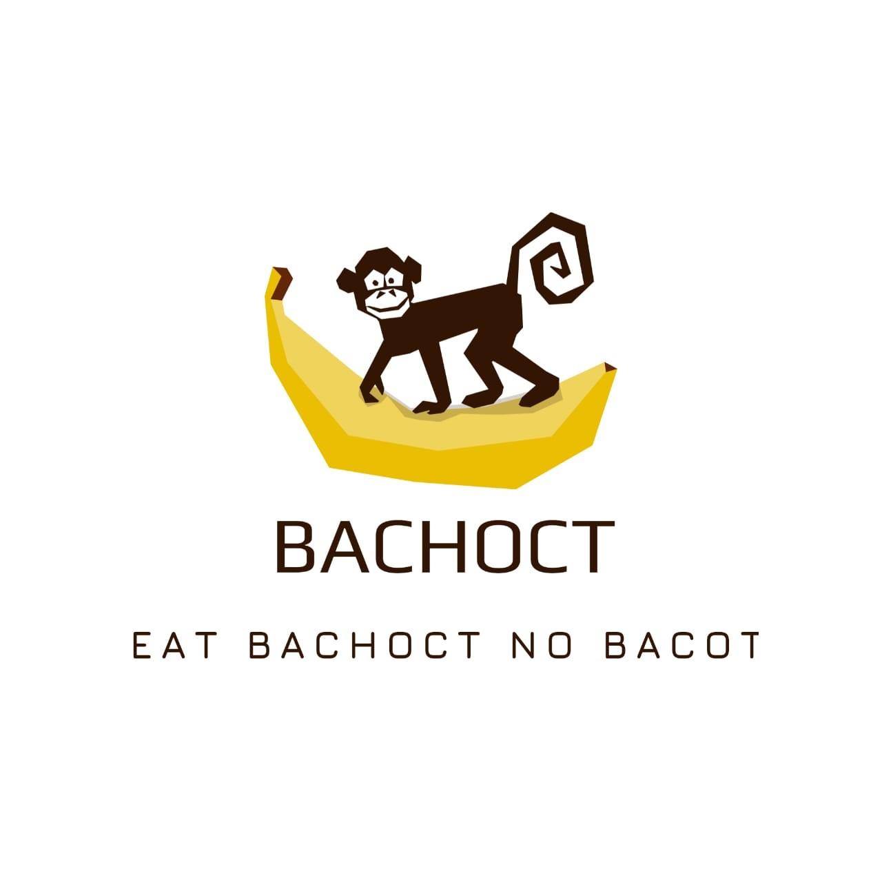 "Contoh Desain Logo ""Bachoct"""