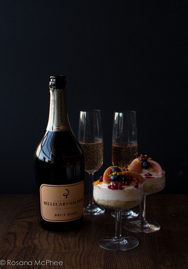 Easy Champagne Cake