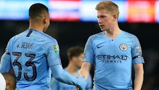 Manchester City vs Fulham 2-0 Highlights
