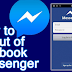How Do You Logout Of Facebook Messenger 2017