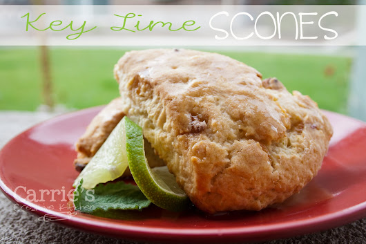 Key Lime Scones