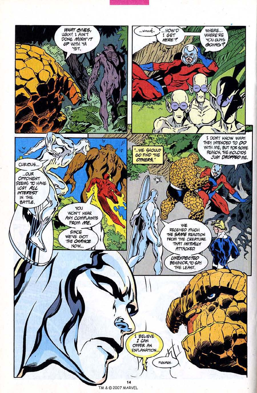 Read online Silver Surfer (1987) comic -  Issue #94 - 16