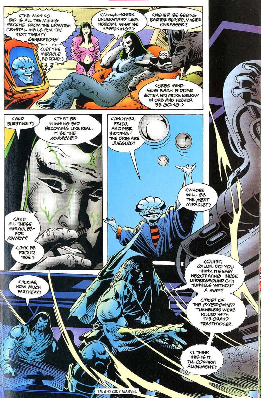 Read online Silver Surfer (1987) comic -  Issue #115 - 21