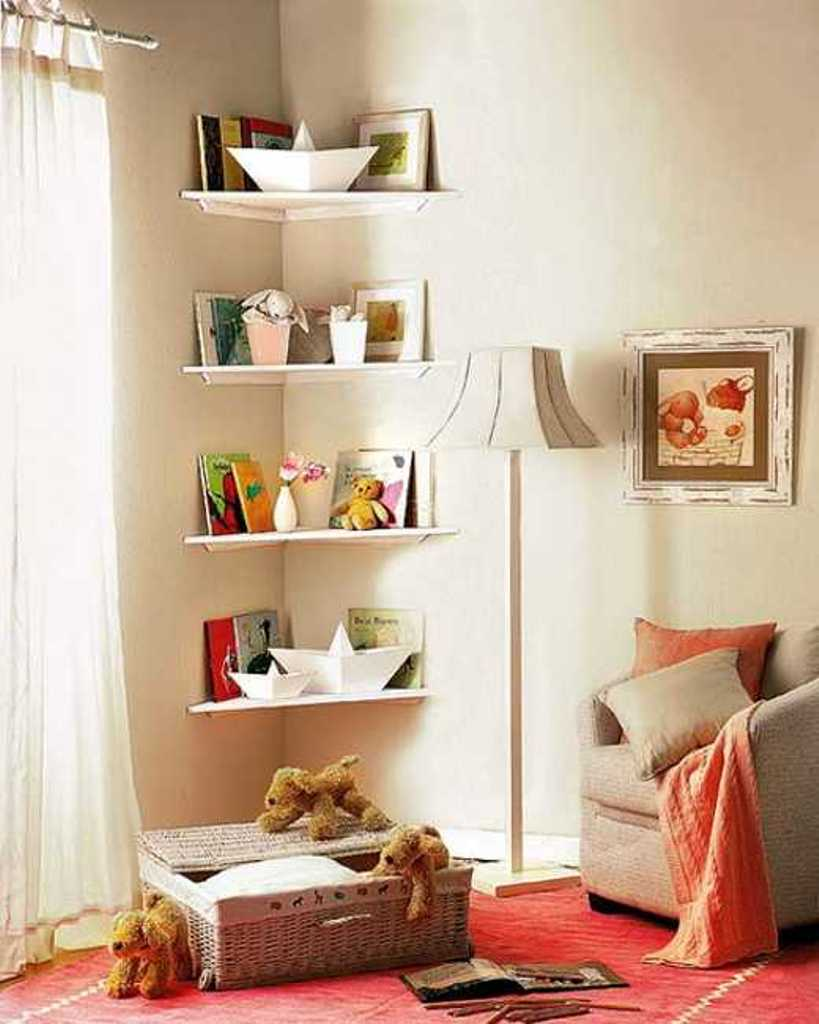 Home Priority: The Practical Corner Wall Shelf that ...
