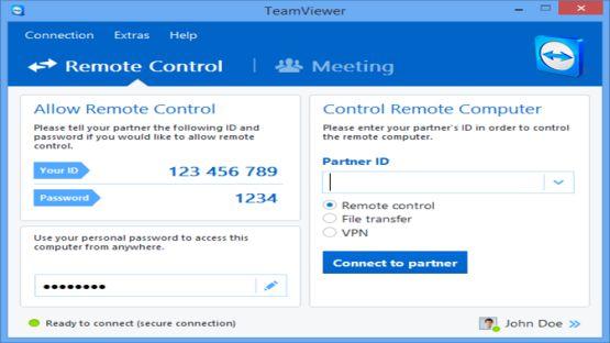TeamViewer 8 Screenshot 2