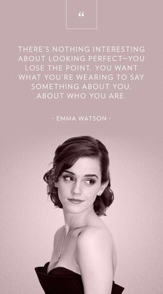 perfect - emma watson quotes