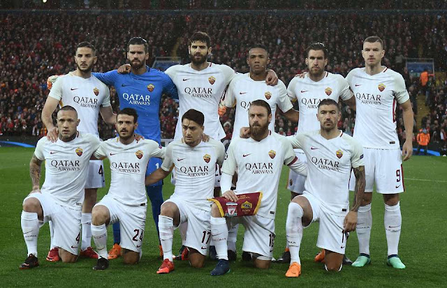 What Roma players are wearing on their training tops ahead of Liverpool tie
