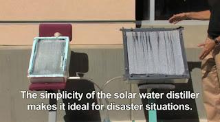 Ηλιακός αποστακτήρας νερού