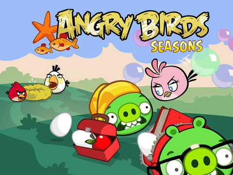 Game Angry Birds Seasons Hd Si Aggiorna Alla Vers 2 5 1 The Apple