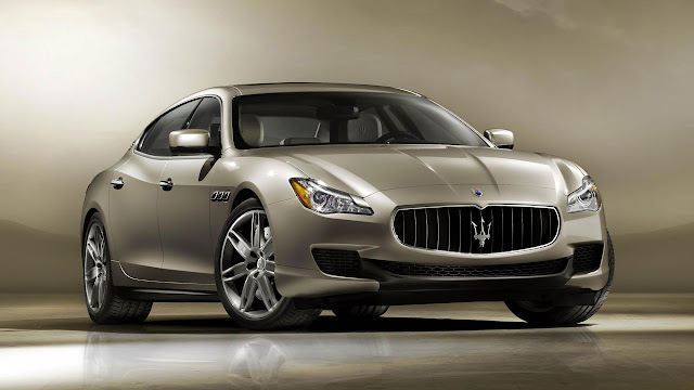 The new Maserati Quattroporte 2013 front
