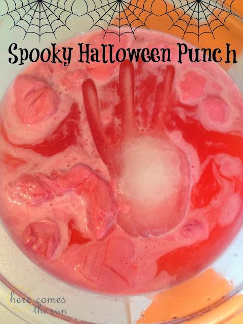 Spooky Halloween Punch #SpookyCelebration #shop