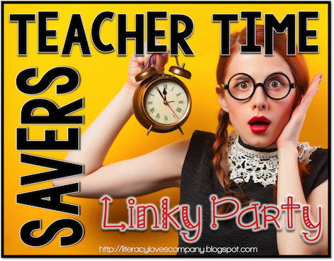 Are you constantly searching for more time in your school day?  Here are some Teacher Time Savers!