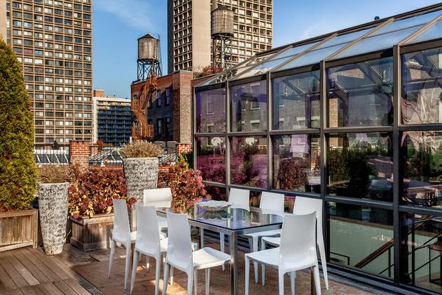 terraza loft en soho neoyorkino