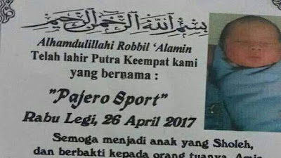 Nama unik pajero sport